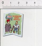 Magnet Le Gaulois Inventions 1530 Invention De La Médecine Expérimentale ? Ambroise Paré ?? Jambe De Bois Prothèse Mag14 - Magnets