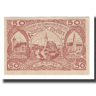 Billet, Autriche, St. Marien O.Ö. Gemeinde, 50 Heller, Texte, 1921, 1921-05-01 - Autriche