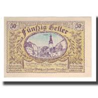 Billet, Autriche, Wang N.Ö. Marktgemeinde, 50 Heller, Texte, 1920, SUP, Mehl:FS - Autriche