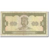 Billet, Ukraine, 1 Hryvnia, 1992, KM:103a, TB - Ukraine