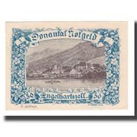 Billet, Autriche, Donautalnotgeld O.Ö. Der Gemeinden, 50 Heller, Texte 8, SUP - Autriche