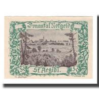 Billet, Autriche, Donautalnotgeld O.Ö. Der Gemeinden, 50 Heller, Texte 7, SUP - Autriche