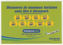 Descartes - Transavia - Que Faites-vous Encore Ici ? - Advertising