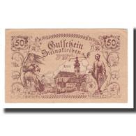 Billet, Autriche, Steinakirchen Am Forst N.Ö. Marktgemeinde, 50 Heller, Texte - Autriche