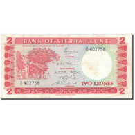 Billet, Sierra Leone, 2 Leones, KM:2d, TTB - Sierra Leone