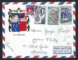 FRANCE Réunion 1966: LSC Par Avion De St Paul Pour La Suisse - Airmail