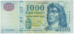 Billet, Hongrie, 1000 Forint, 2009, KM:197a, TTB - Ukraine
