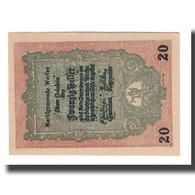 Billet, Autriche, Werfen Sbg. Marktgemeinde, 20 Heller, Paysage, 1920 - Autriche