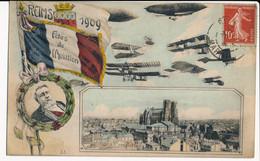 CPA 51 REIMS 1909 Fêtes De L'Aviation - Reims