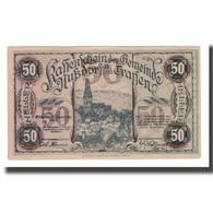 Billet, Autriche, Nußdorf An Der Traisen N.Ö. Gemeinde, 50 Heller, N.D, 1920 - Autriche