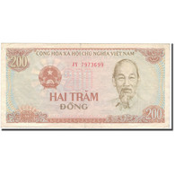Billet, Viet Nam, 200 D<ox>ng, 1987, KM:100b, TTB - Vietnam