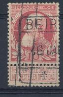 Nr  74   Met Stempel  Beirvelde - 1905 Grove Baard