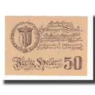 Billet, Autriche, St. Georgen Und Tollet O.Ö. Gemeinden, 50 Heller, Portrait - Autriche