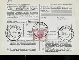 Doc De La Poste N° 965 : Obl. TINTIGNY  29/01/74 - 1970-1980 Elström