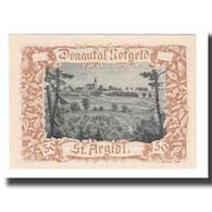Billet, Autriche, Donautalnotgeld O.Ö. Der Gemeinden, 50 Heller, Texte 6, SUP - Autriche