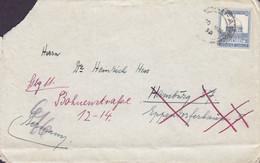 Palestine HAIFA 1933 Cover Brief Dr. Heinrich Hess HAMBURG Readressed Eingegangen Dres. H. Pardey U. H. Hess (2 Scans) - Palestina