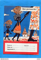 "3 Protège Cahiers """"Margarine""-""ASTRA""illustrations Petit Tahitien*-enfants D'A O F-Sénégal - M"