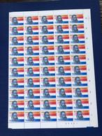 Nederland NVPH 1312 Vel Willem Van Oranje 1984 MNH Postfris - Nuovi