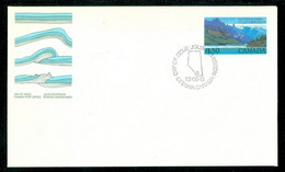 Lacs / Lakes WATERTON, Alberta; Timbre Scott # 935 Stamp; Pli Premier Jour / First Day Cover (6517) - Covers & Documents