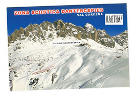 POSTKAART ITALIE - ZONA SCIISTICA DANTERCEPIES -  VAL GARDENA - Unclassified