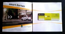 SMART Fortwo 2009 Rare Dépliant Cartonné Avec Mesure 269cm - Andere