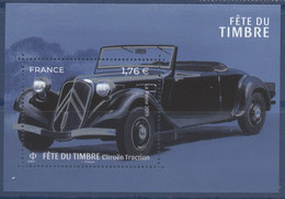 F 5303 Feuillet Fête Du Timbre Voitures Anciennes Valeur Faciale 1,76 € - Nuevos
