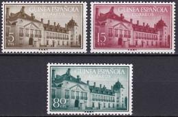 Guinée Espagnole YT 368/70 Mi 312/14 Année 1955 (MNH **) - Guinea Española