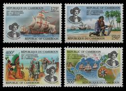 Kamerun 1992 - Mi-Nr. 1192-1195 ** - MNH - Schiffe / Ships - Columbus - Camerun (1960-...)