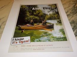 PUBLICITE FISH AISNE CHIPS L AISNE IT S OPEN  2009 - Andere
