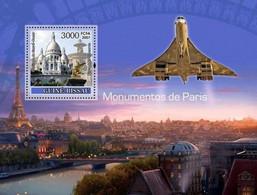 Guinea Bissau 2007, Monuments Of Paris, Concorde, BF - Concorde