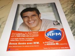 PUBLICITE JULIEN CLERC SUR RADIO  RFM  2006 - Andere
