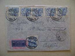 AUSTRIA - LETTER SENT FROM WIEN TO SAO PAULO (BRAZIL) IN 1937 IN THE STATE - Brieven En Documenten