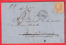 N°28 PICQUAGE DECALE FAUSSE REEXPEDITION ST JEAN D'ANGELY REEXP AULNAY TAXE MANUSCRIT 2 - Lettere Tassate
