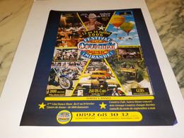 ANCIENNE PUBLICITE FESTIVAL DE COUNTRY A MIRANDE  2006 - Andere