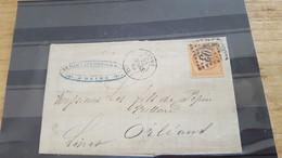 LOT552489 TIMBRE DE FRANCE OBLITERE SUR ENVELOPPE N°23 - 1862 Napoleone III