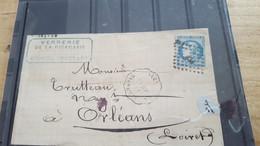 LOT552508 TIMBRE DE FRANCE OBLITERE SUR ENVELOPPE BORDEAUX - 1870 Ausgabe Bordeaux