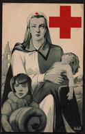 Carte Vendue Aubénéfice De La Croix-Rouge De Belgique - Illustration Signée J.v.d. Bergh - Voir Scans - Croix-Rouge