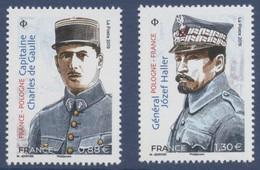 N° 5311 Et 5312 Du Feuillet Relations Pologne France Valeur Faciale 0,88 € Et 1,30 € - Nuevos