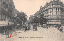75-PARIS AVENUE DE LA REPUBLIQUE-N°C-4371-F/0289 - Andere