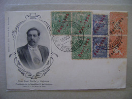 URUGUAY - POST CARD DON JOSE BATLLE Y ORDONEZ (PRESIDENT) SENT TO MONTEVIDEO IN 1904 IN THE STATE - Personnages