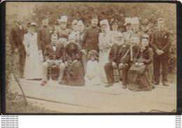 MARIAGE AVEC OTTOMAN - PHOTO SUR CARTON  - 16.5X10 - Unclassified