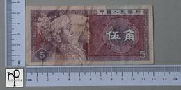 CHINA 5 JIAO 1980 -       (Nº44047) - Chine