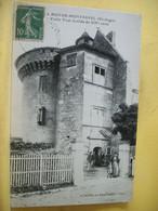 24 2928 CPA 1923. AUTRE VUE LEGENDE EDITEUR DIFFERENTS N° 8 - 24 LAMOTHE MONTRAVEL. VIEILLE TOUR FORTIFIEE...- ANIMATION - Other Municipalities