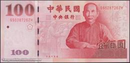TWN - TAIWAN 1998 - 100 Yuan 2011 100th Ann. Of Republic Of China - GS XXXXXX ZH UNC - Taiwan