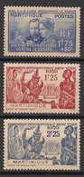 Martinique - 1938-39 - N°Yv. 167 à 169 - 3 Valeurs - Neuf Luxe ** / MNH / Postfrisch - Neufs