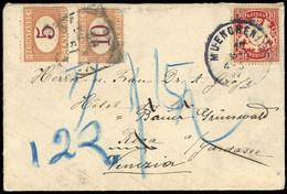 1888, Altdeutschland Bayern, 56 U.a., Brief - Bavaria