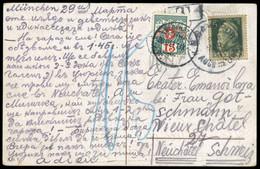 1911, Altdeutschland Bayern, 77 I U.a., Brief - Bavaria