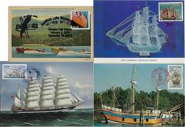 USA United States 1997 / 2015 4 Maximum Card Navigation ShipSailboat Speedboat Transport - Bateaux