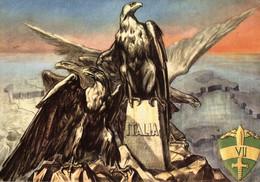 CPA - WW2 WWII - Guardia Alla Frontiera - Aquila, Aigle, Eagle - VG - WN039 - Oorlog 1939-45