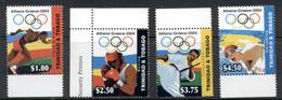 Trinidad & Tobago 2004 Summer Olympics Athens MUH - Trinidad En Tobago (1962-...)
